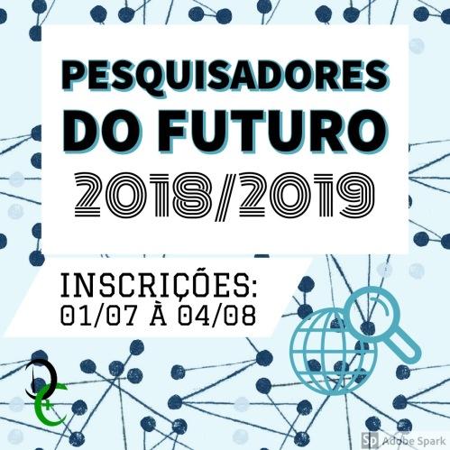 2018 Pesquisadores do Futuro